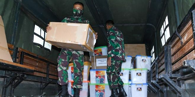 Kodam IV Diponegoro Terima Bantuan Perlengkapan Kesehatan Dari Kasad