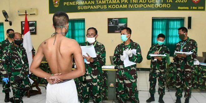 286 Calon Tamtama TNI AD Lulus Pantukhir