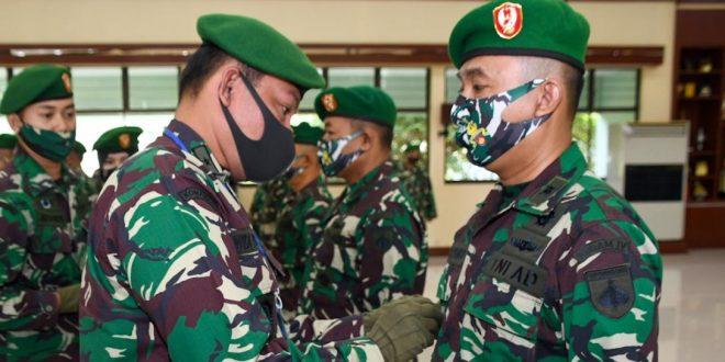Kasdam Pimpin Sertijab Pejabat Utama Kodam IV/Diponegoro