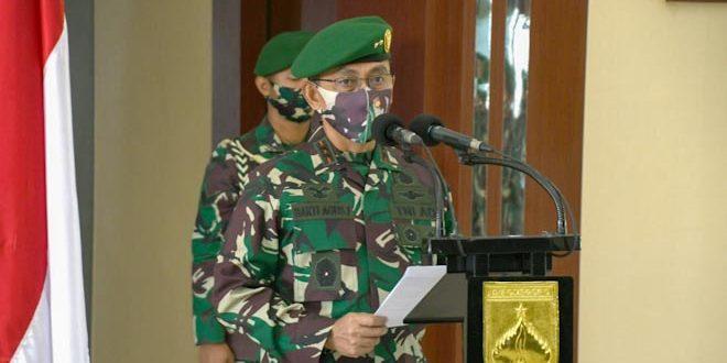 Pangdam Pimpin Sertijab 4 Asisten Kasdam IV/Diponegoro