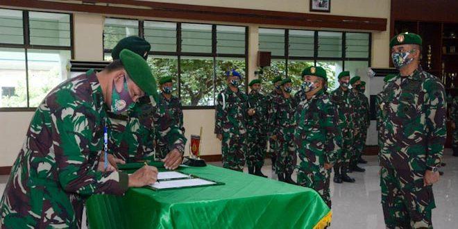 Kasdam Lantik Pejabat Teras Kodam IV/Diponegoro
