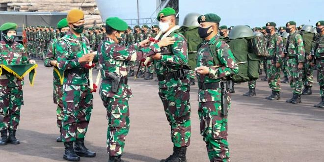 Selamat Datang Yonif 406/CK di Bumi Diponegoro