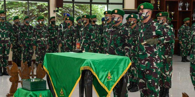 Pangdam IV Melantik Pejabat Baru di Lingkungan Kodam IV/Diponegoro