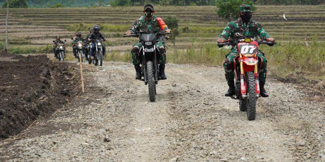 Kasdam IV/Diponegoro Jajal Trek Kalinusu