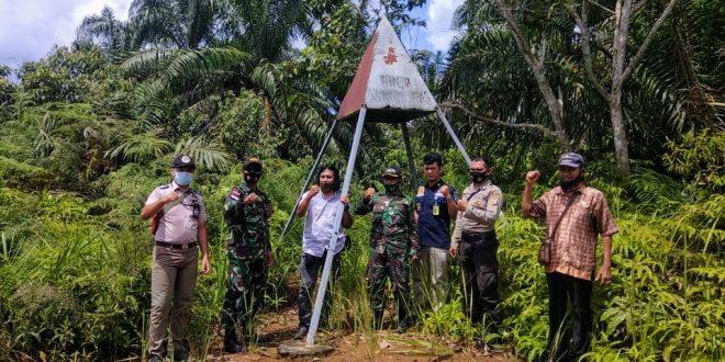 Wujud Sinergitas dan Tingkatkan Keamanan Perbatasan Satgas Yonif 407/PK Patroli Bersama