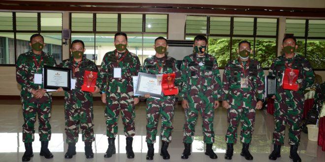Satuan Jajaran Kodam IV/Diponegoro Sabet Juara 1 dan 3 Lomba Karya Jurnalistik