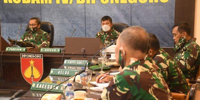 Kodam IV/ Diponegoro Berkomitmen Pertahankan Opini Wajar Tanpa Pengecualian