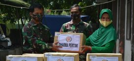 Peduli Bencana Alam, Persit KCK PD IV/Diponegoro Salurkan Bantuan Kemanusiaan