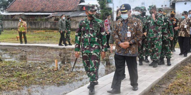 Sejarah Baru, Kodim 0709/Kebumen Bangun Markas Baru di Atas Tanah Hibah Pemda