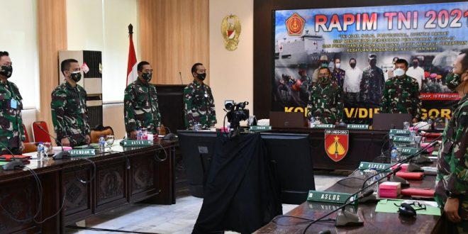 Pangdam IV/Diponegoro Ikuti Rapim TNI