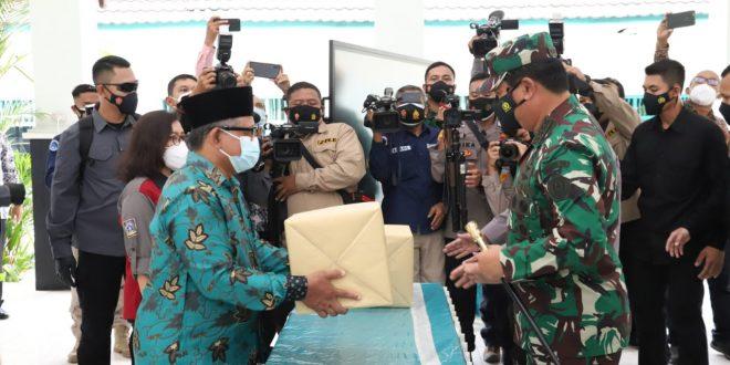 Panglima TNI Optimis Covid-19 Bisa Teratasi Dengan PPKM Mikro