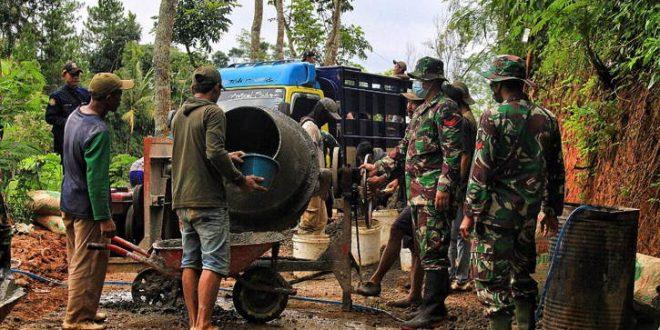 TMMD Menjadi Program Primadona TNI Bersama Warga