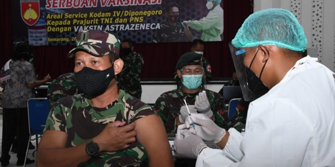 Serbuan Vaksin Astra Zeneca Tahap I Percepat Atasi Pandemi