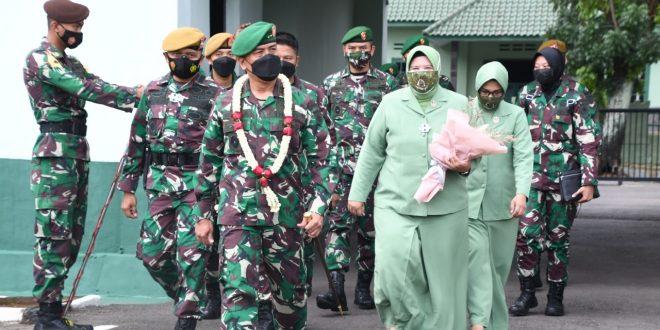Profesionalisme Prajurit Menentukan Kemenangan Perang, Pesan Pangdam saat Kunker Ke Yon Arh 15/DBY