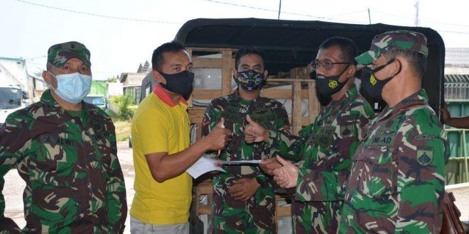 Kodam IV/Diponegoro Bangun Sanitasi Di Masyarakat