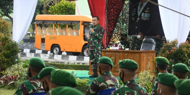Pangdam IV/Diponegoro di Yon Zipur 4/TK: The Right Man On The Right Place