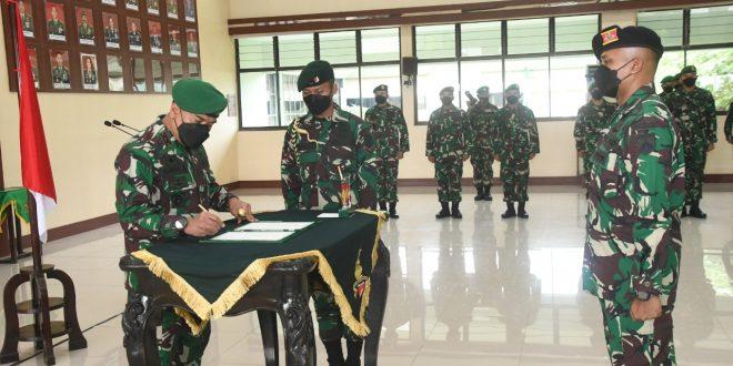 Kapten Kav Pradita Yudha Runiawan Resmi Jabat Dankikav 2/JRTR, Ini Pesan Pangdam