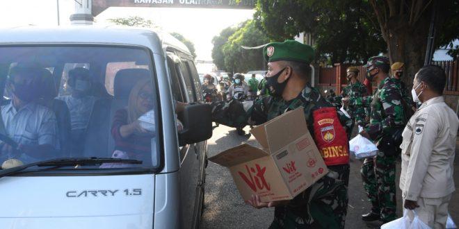 Takjil Berkah, Sinergi TNI- Polri dan Rakyat Kuat