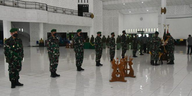 Pangdam IV/Diponegoro Pimpin Sertijab Sejumlah Pejabat Utama Kodam IV