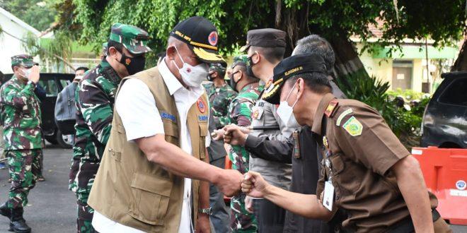 Pangdam IV/Diponegoro Sambut Kunjungan Kerja Kepala BNPB