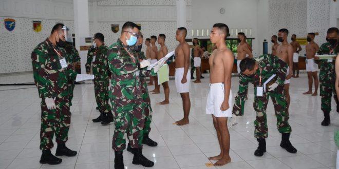 Kodam IV/Diponegoro Selektif Dalam Penerimaan Calon Taruna Akmil