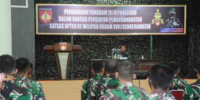 Pangdam IV/Diponegoro : Lead Teach By Example, Memimpin Mengajari Dengan Contoh