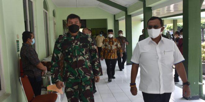 Komisi I DPR RI Kunjungi Rumkit Sakit Bhakti Wira Tamtama