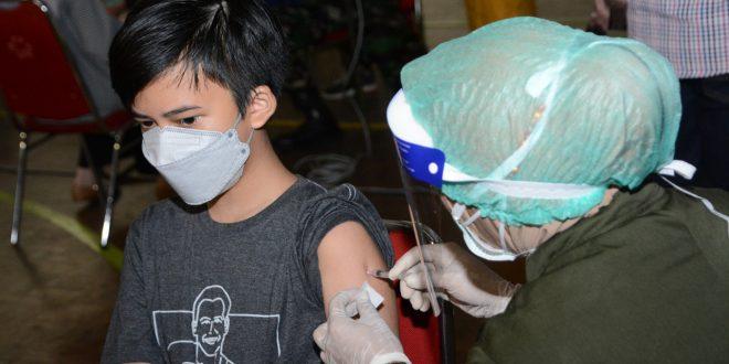 Vaksinasi Untuk Putra Putri KBT TNI Menuju Herd Immunity