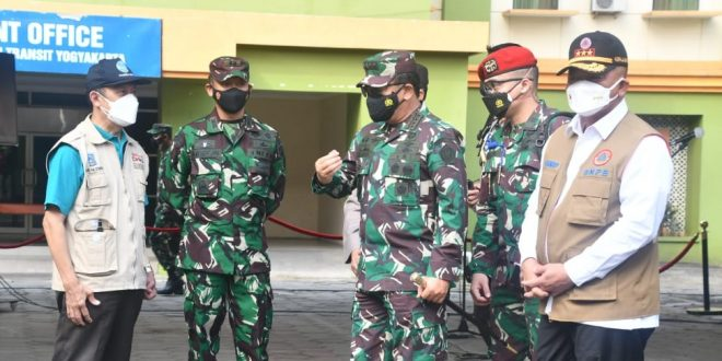 Panglima TNI : Walaupun Sudah Sembuh Harus Tetap Disiplin Protkes