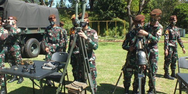 Satuan Tempur Kodam IV/Diponegoro Menerima Kunjungan Pembelajaran Taruna Akmil