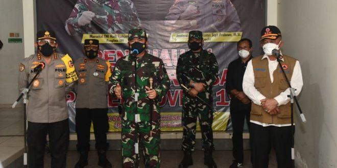 Panglima TNI Ungkap Kunci Memutus Rantai Penyebaran Covid-19