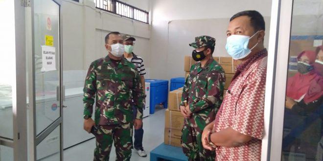 Pangdam IV/Diponegoro Cek Gudang Obat Covid – 19 di Klaten