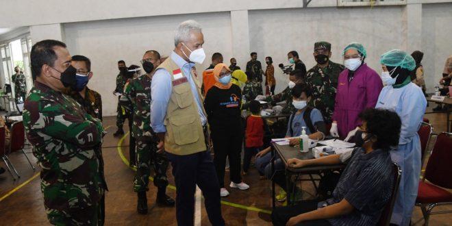 Kodam IV/Diponegoro Lakukan Vaksinasi Untuk Generasi Yang Lebih Sehat