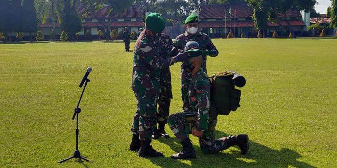 70 Prajurit Infanteri Dikjurtaif TNI AD Dikukuhkan