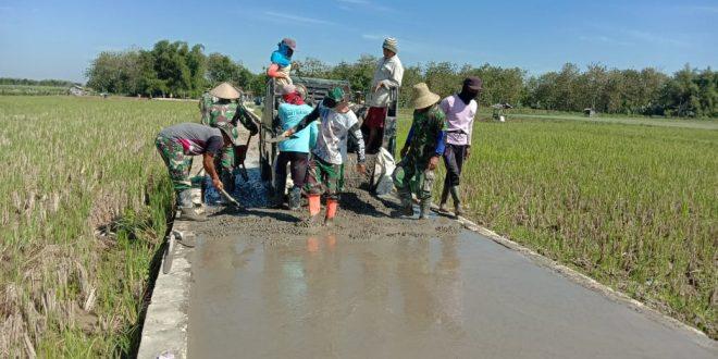 Satgas TMMD Kodim 0718/Pati Komit Bantu Masyarakat Kecil Di Pedesaan