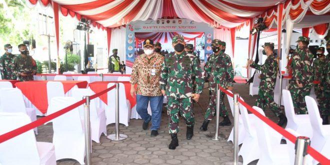 Cek Kesiapan Lokasi Vaksinasi Massal, Pangdam IV/Diponegoro Kunjungi Kodim 0708/PWJ