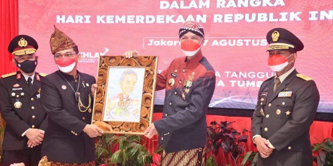 Irdam IV/Diponegoro Hadiri Pemberian Remisi Narapidana Lapas Semarang