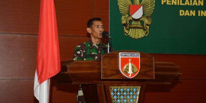 Kodam IV/Diponegoro Gelar Acara Penilaian Mandiri Pelaksanaan Reformasi Birokrasi