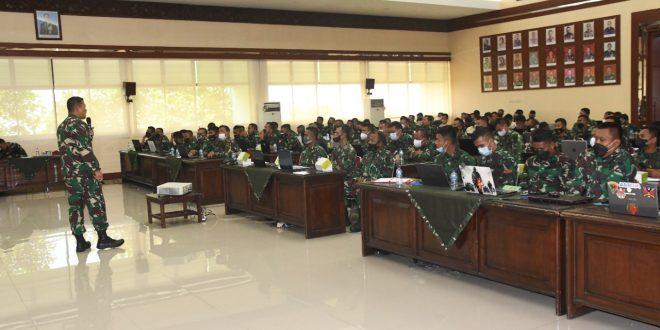 Kodam IV/Diponegoro Selenggarakan Sosialisasi Aplikasi Anevdata