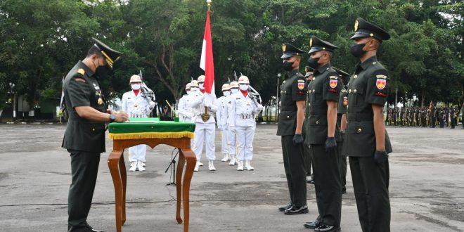 Pangdam IV/Diponegoro Lantik 550 Siswa Dikmata TNI AD TA 2021