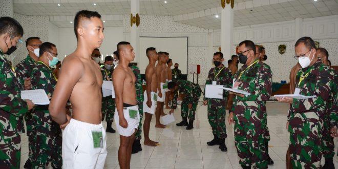 Mayjen TNI Rudianto Pimpin Sidang Parade Bintara PK 2021 Tingkat Daerah