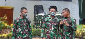 Satgas Pamtas RI-PNG Yonif 410/Alugoro Terima Kunjungan Danrem 174/ATW