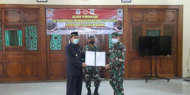 TMMD Reguler Ke-112 TA 2021 Wilayah Kodam IV/Diponegoro Secara Resmi Dibuka