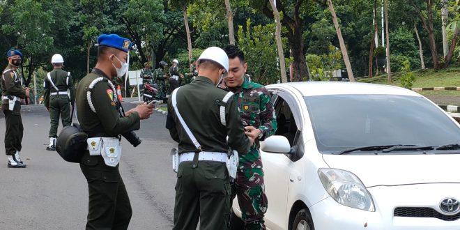 Pomdam IV/Diponegoro Gelar Pekan Disiplin Dalam Rangka HUT Ke-76 TNI dan HUT Ke-71 Kodam IV/Diponegoro