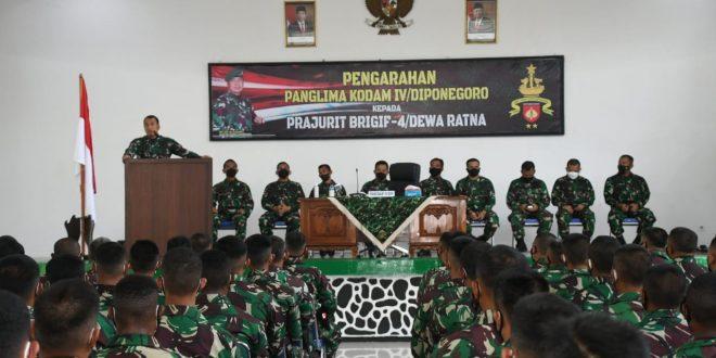 Pangdam IV/Diponegoro : Prajurit Kodam IV/Diponegoro Adalah Prajurit Andalan