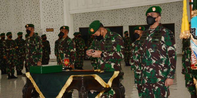 Pangdam IV/Diponegoro Pimpin Upacara Sertijab Pejabat Utama Kodam IV