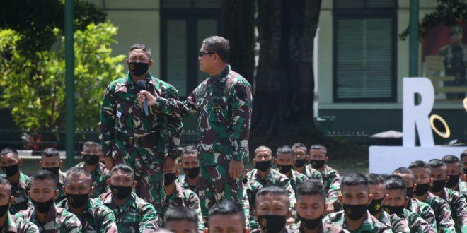 Kasdam IV/Diponegoro Dampingi Kunker Dankodiklatad Ke Rindam IV/Diponegoro