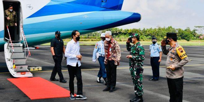 Pangdam IV/Diponegoro Pimpin Pengamanan VVIP Kunjungan Kerja Presiden RI di Cilacap