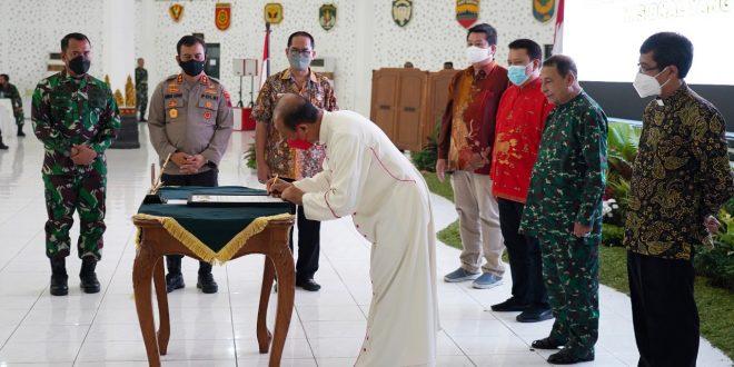 Kodam IV/Diponegoro Gelar Silaturahmi Ulama Umara Dan FKUB Se-Jateng