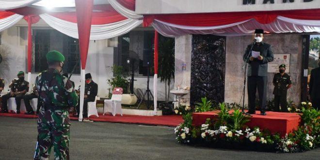 Kasdam IV/Diponegoro Hadiri Peringatan Pertempuran Lima Hari Di Semarang
